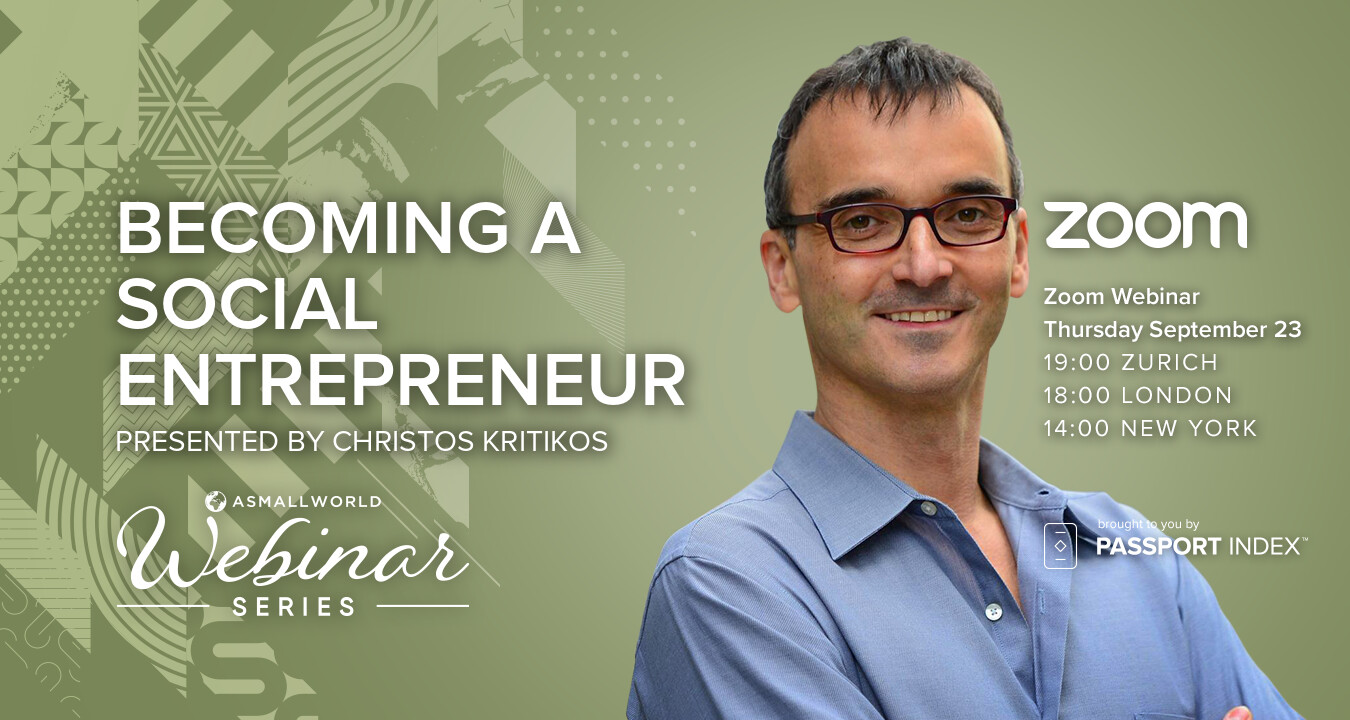 Webinar: Becoming a Social Entrepreneur with Christos Kritikos