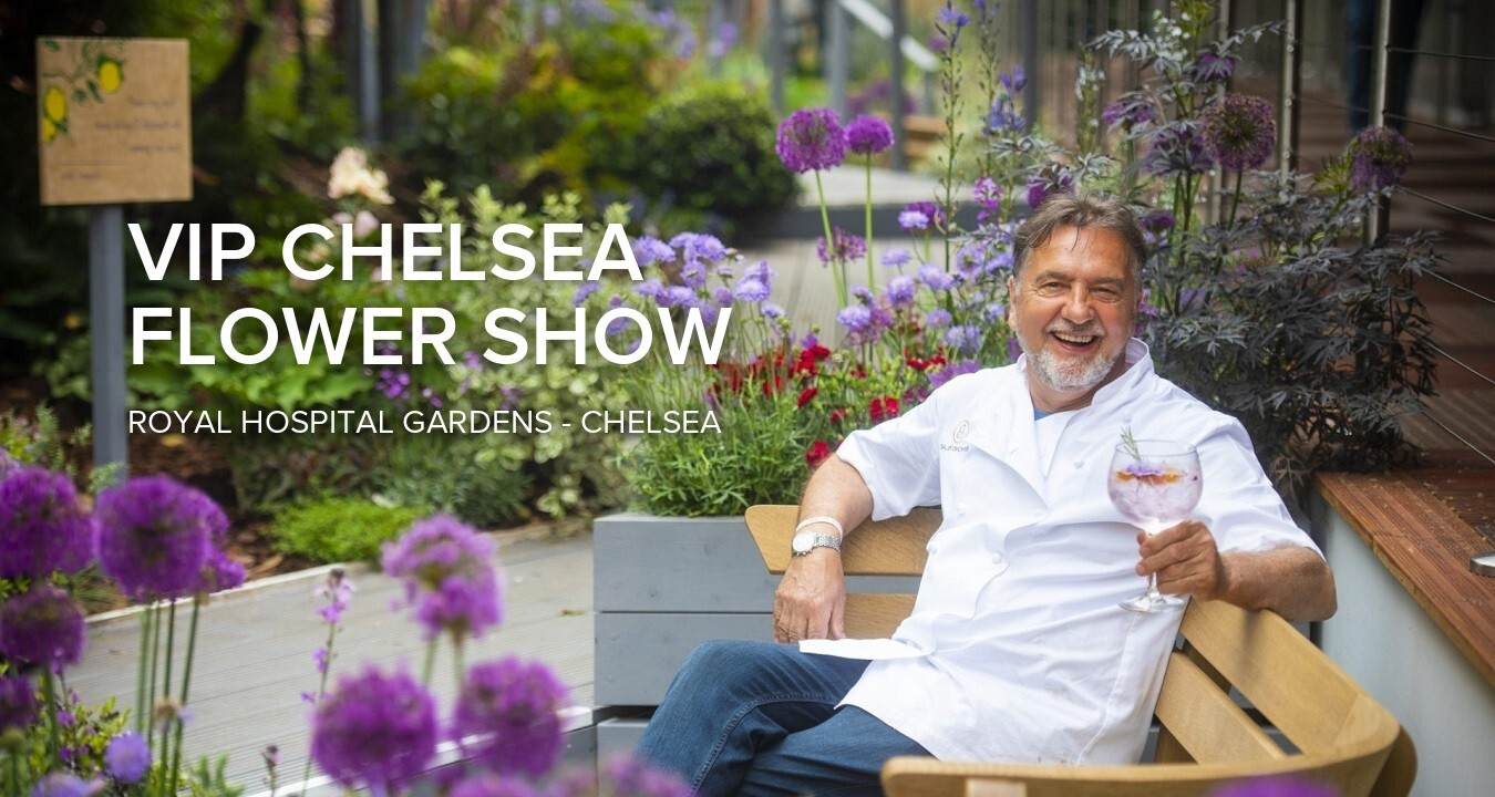 RHS Chelsea Flower Show and VIP Hospitality with Raymond Blanc